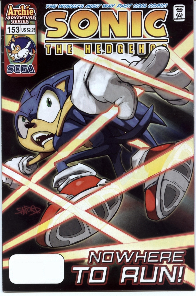 Sonic - Archie Adventure Series November 2005 Cover Page