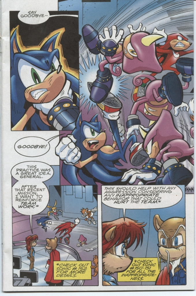 Sonic - Archie Adventure Series November 2005 Page 3