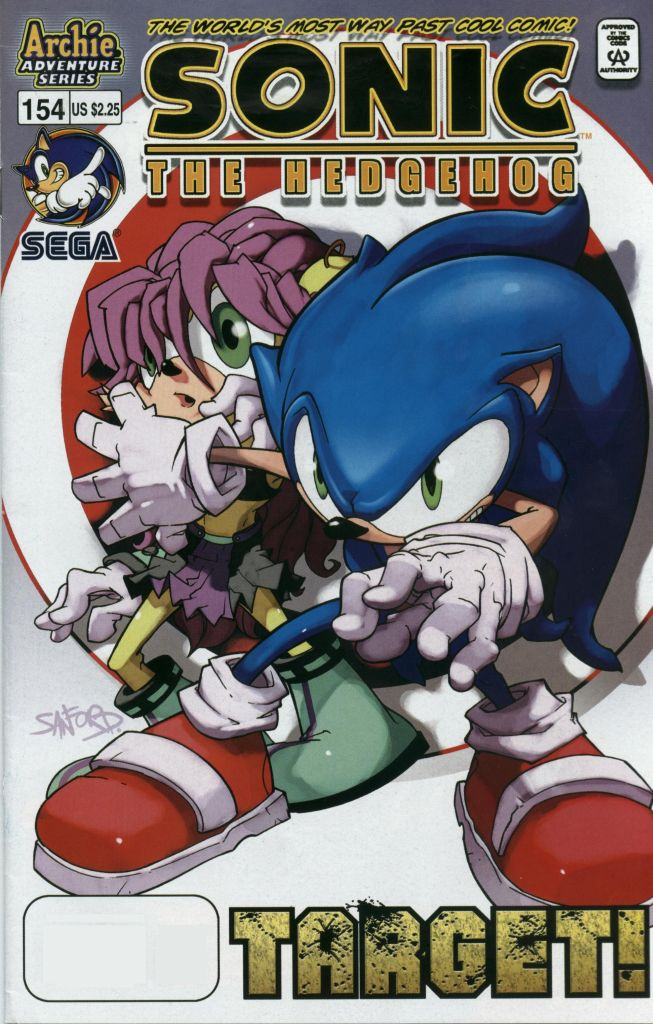 Sonic - Archie Adventure Series December 2005 Comic cover page