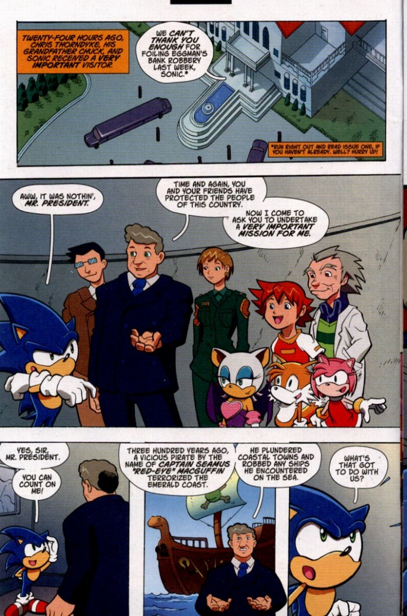 Sonic X - December 2005 Page 2