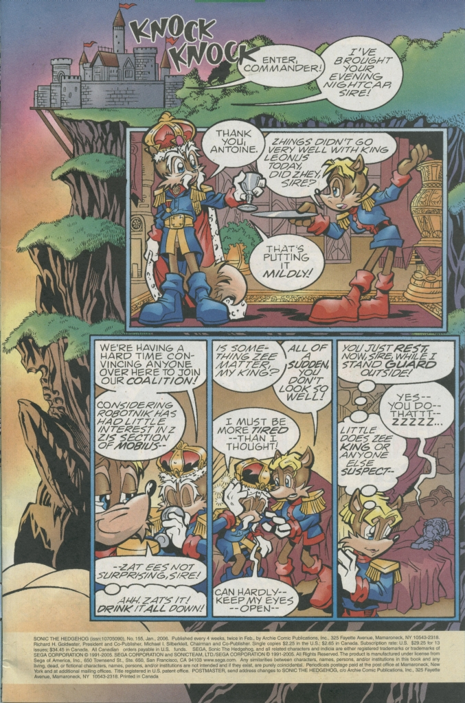 Sonic - Archie Adventure Series January 2006 Page 1