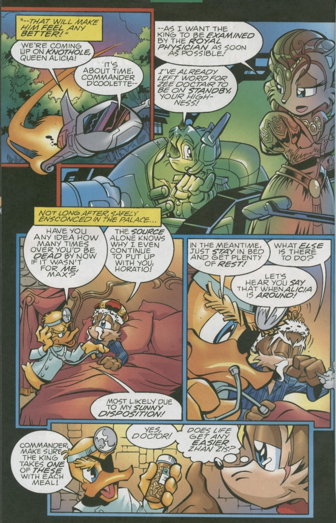 Sonic - Archie Adventure Series January 2006 Page 5