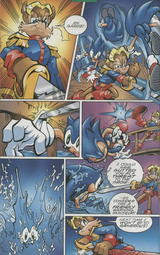 Sonic - Archie Adventure Series January 2006 Page 10