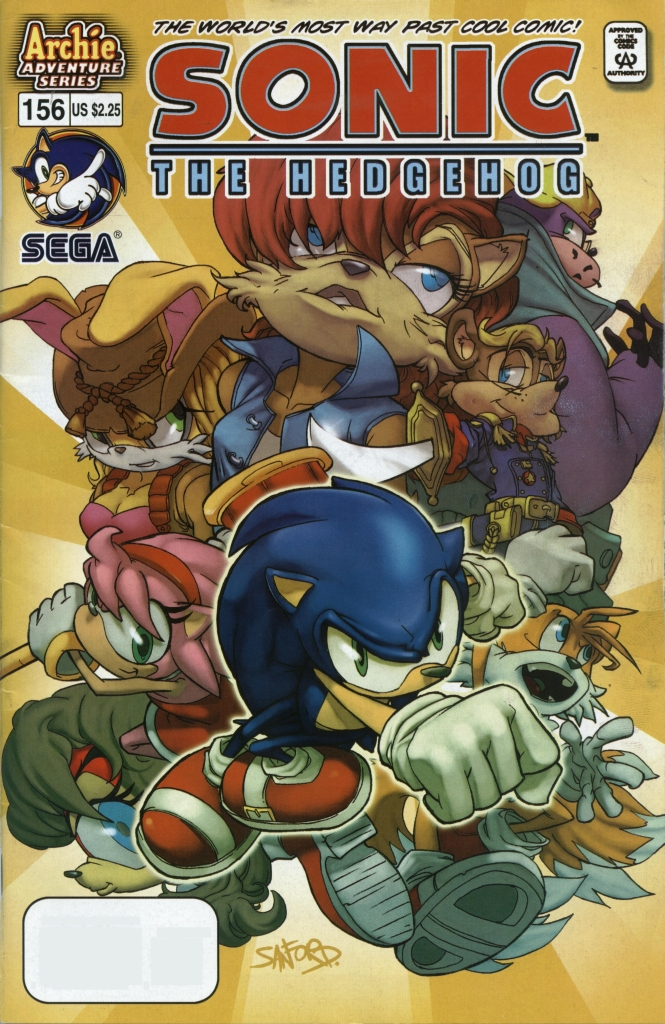 Sonic - Archie Adventure Series January 2006 Comic cover page
