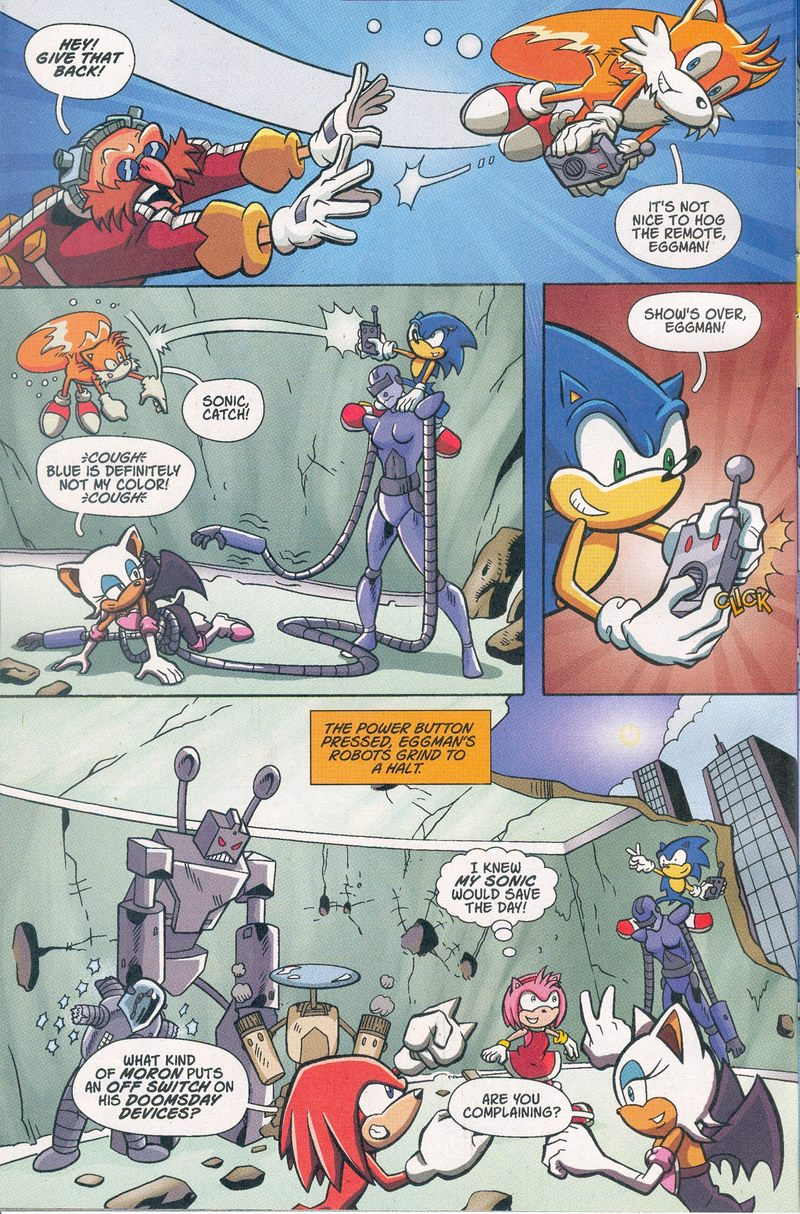 Sonic X - February 2006 Page 21