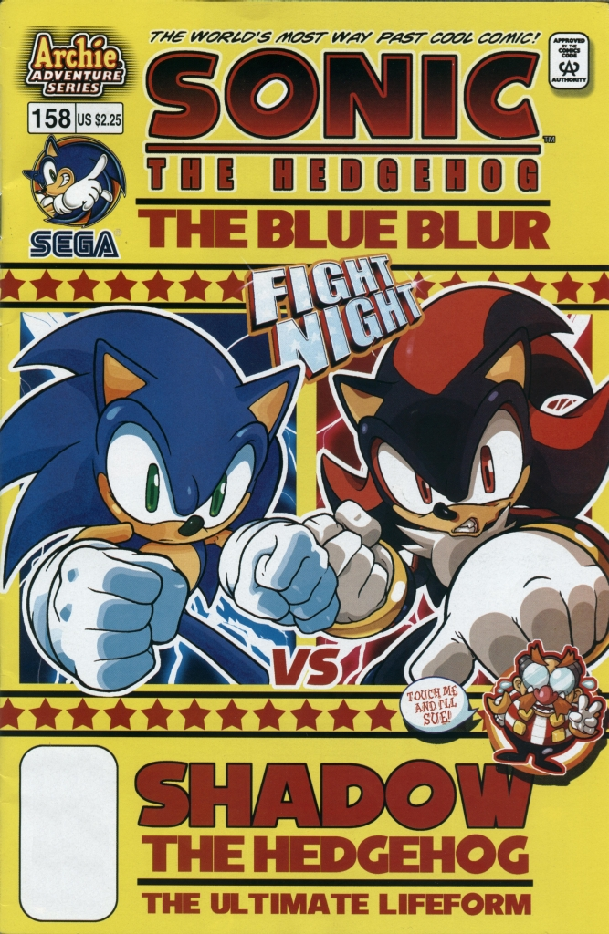 Sonic - Archie Adventure Series March 2006 Cover Page