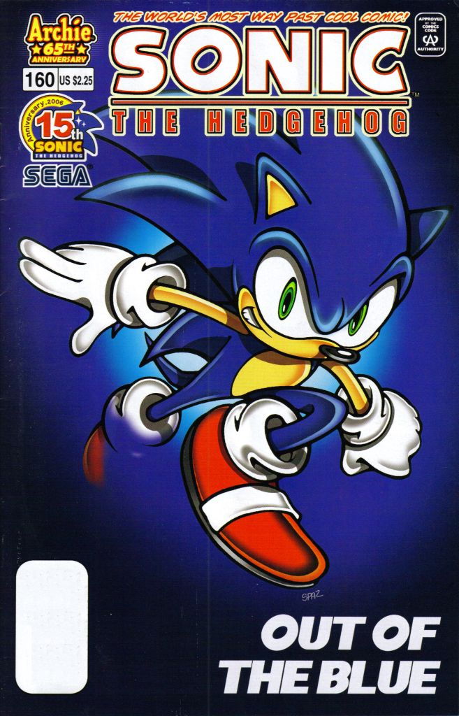 Sonic - Archie Adventure Series May 2006 Comic cover page