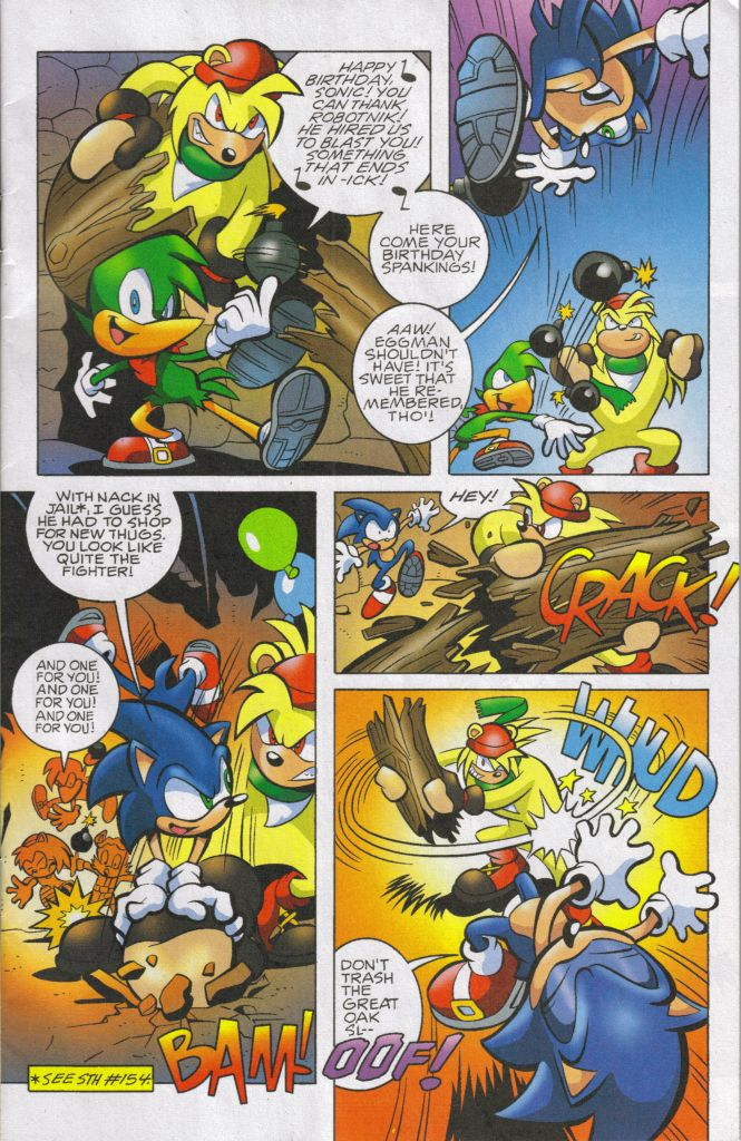Sonic - Archie Adventure Series May 2006 Page 3