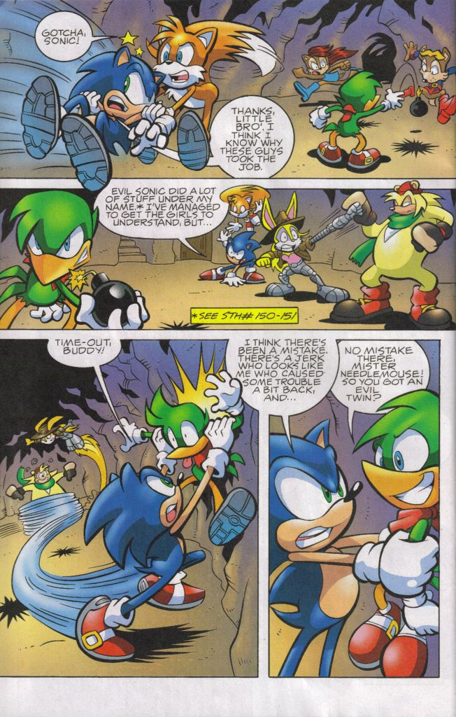 Sonic - Archie Adventure Series May 2006 Page 4