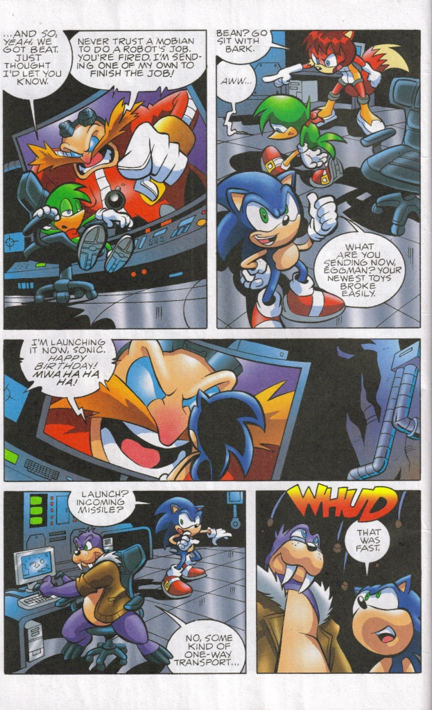 Sonic - Archie Adventure Series May 2006 Page 13