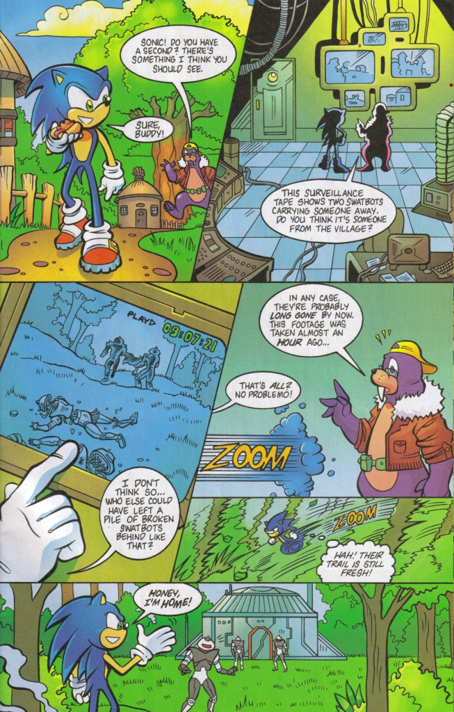 Sonic - Archie Adventure Series May 2006 Page 20
