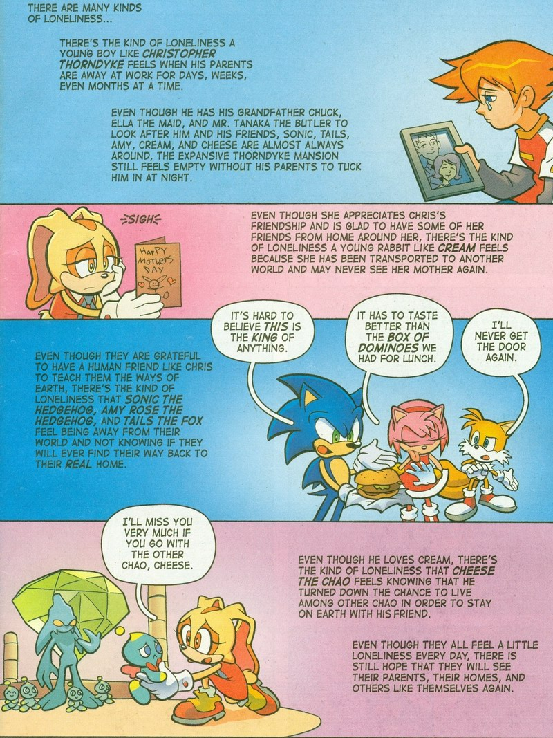 Sonic X - May 2006 Page 1