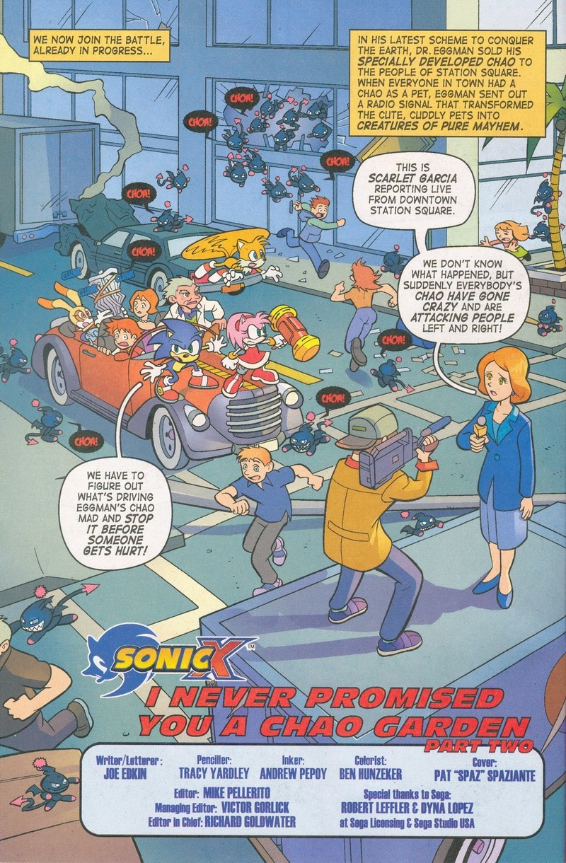 Sonic X - May 2006 Page 4