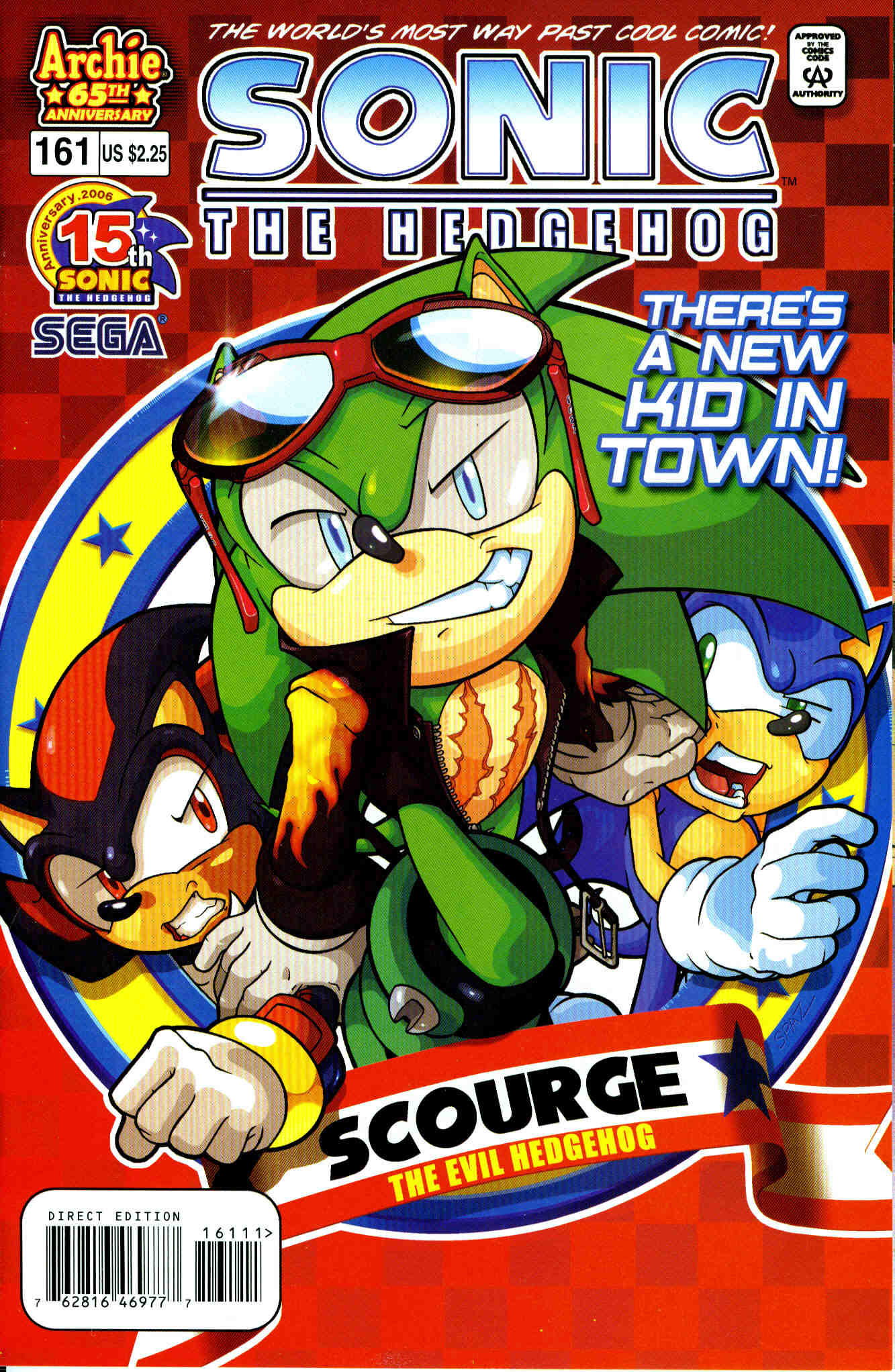 Sonic - Archie Adventure Series June 2006 Comic cover page
