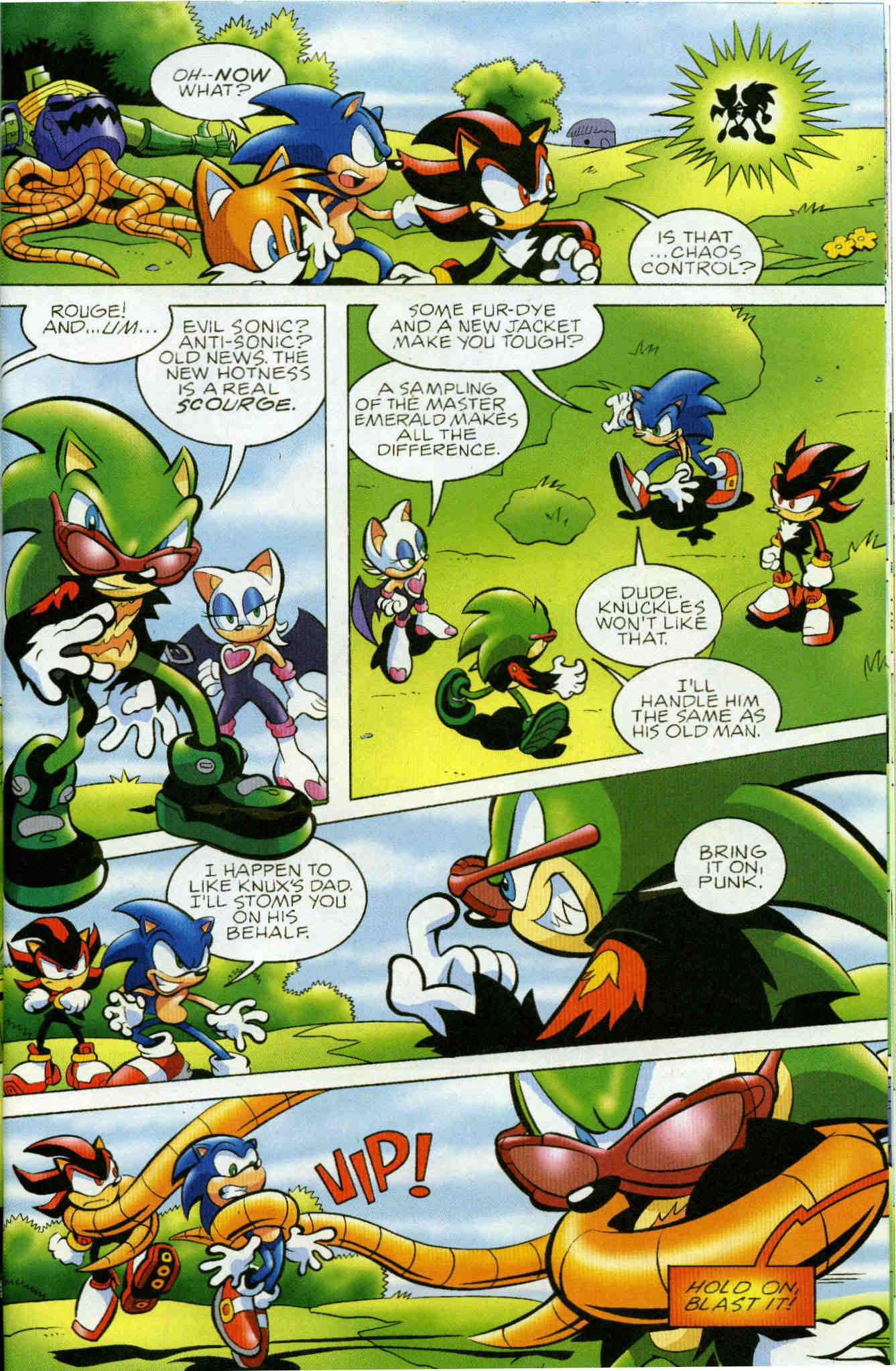 Sonic - Archie Adventure Series June 2006 Page 6