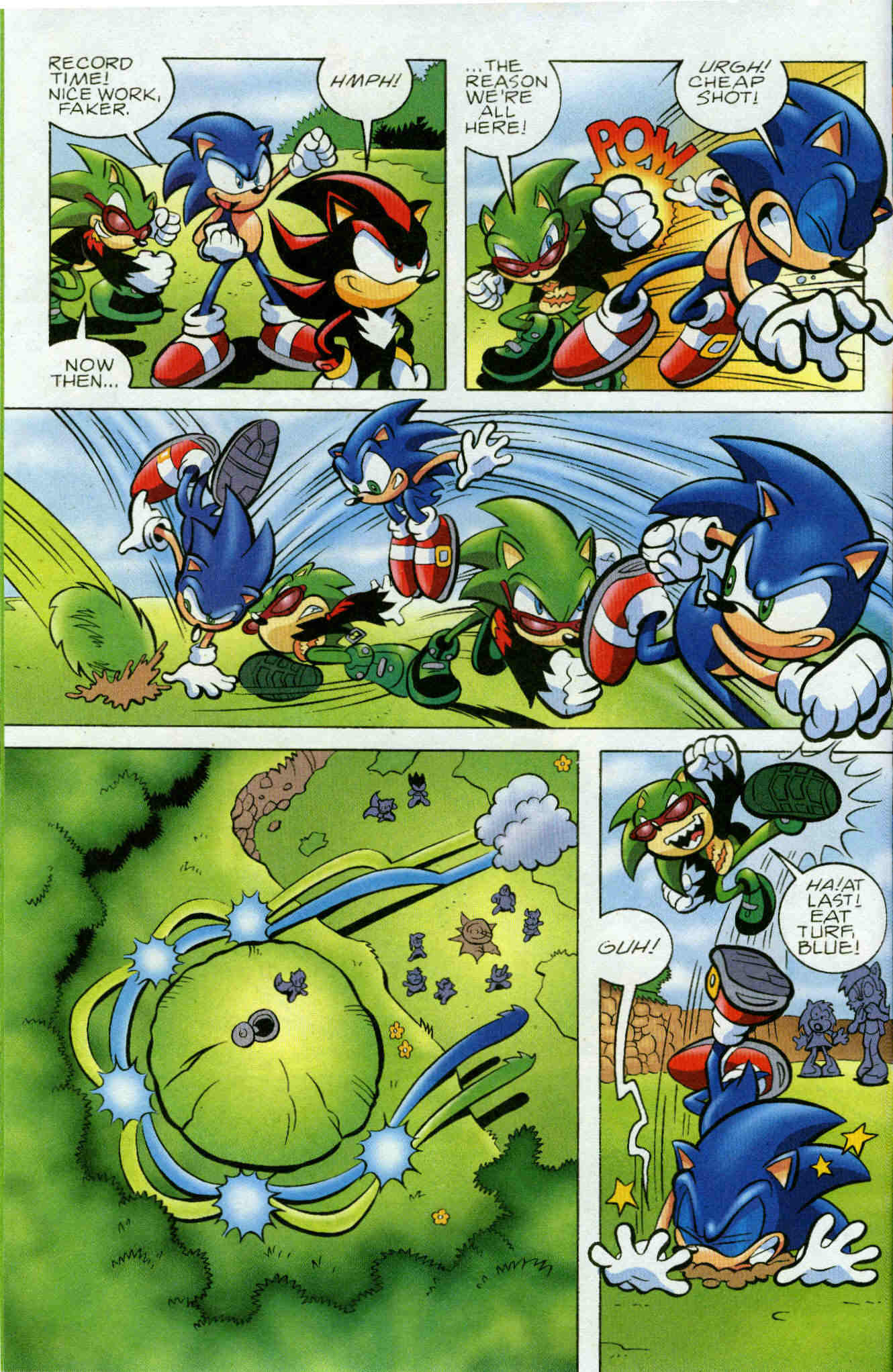 Sonic - Archie Adventure Series June 2006 Page 8