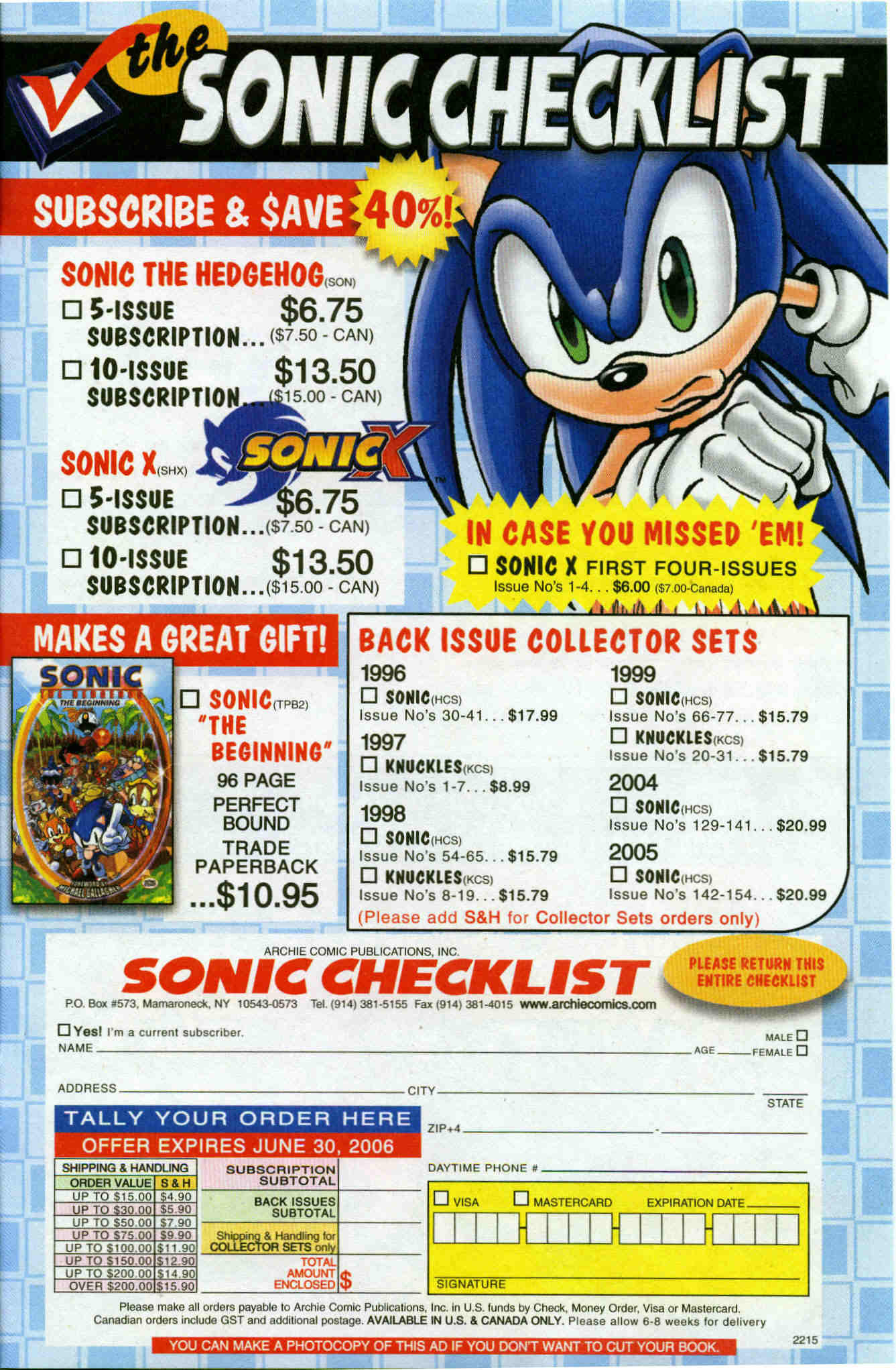Sonic - Archie Adventure Series June 2006 Page 23