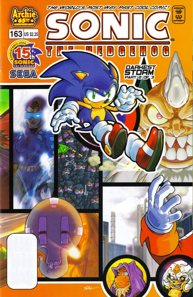 Sonic - Archie Adventure Series July 2006 Comic cover page