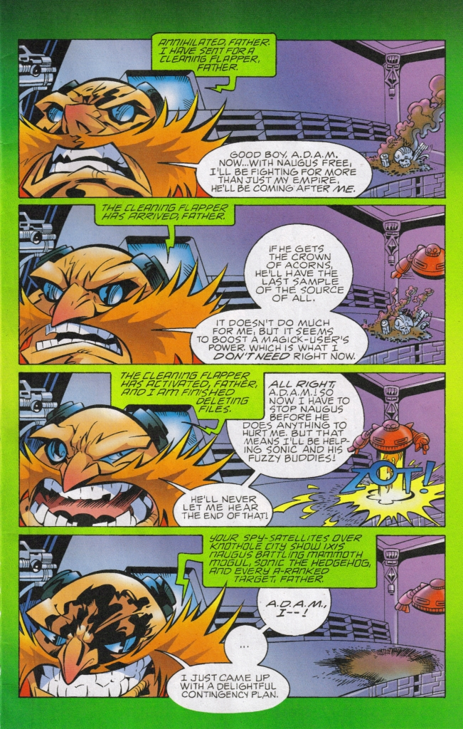 Sonic - Archie Adventure Series July 2006 Page 11