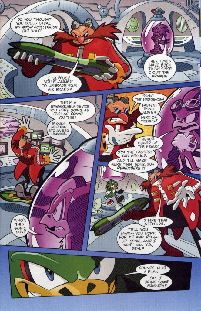 Sonic - Archie Adventure Series July 2006 Page 18