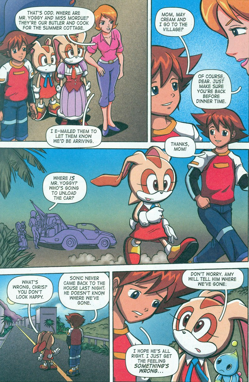 Sonic X - October 2006 Page 09