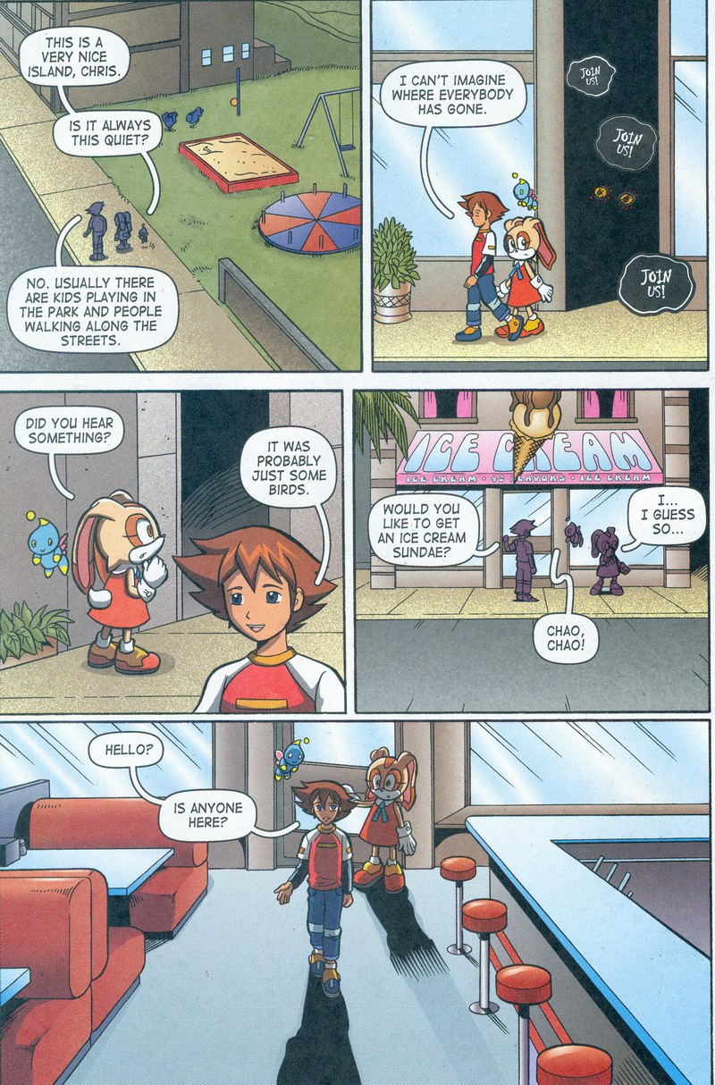 Sonic X - October 2006 Page 12