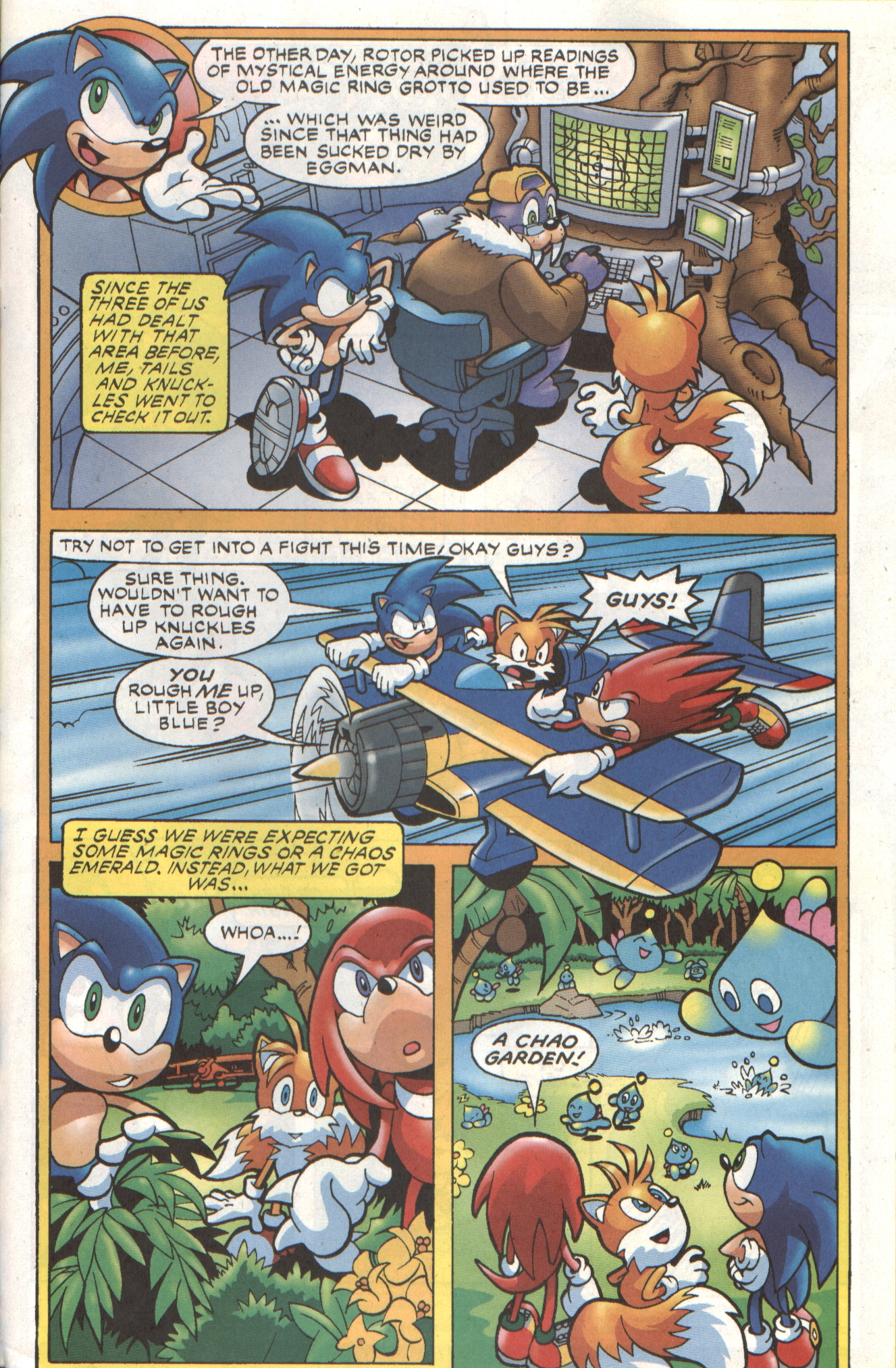 Sonic - Archie Adventure Series April 2007 Page 19