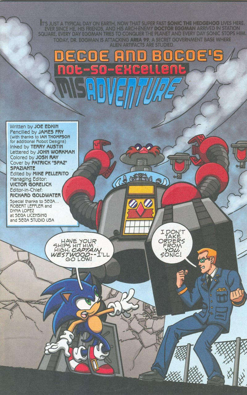 Sonic X - August 2007 Cover Page