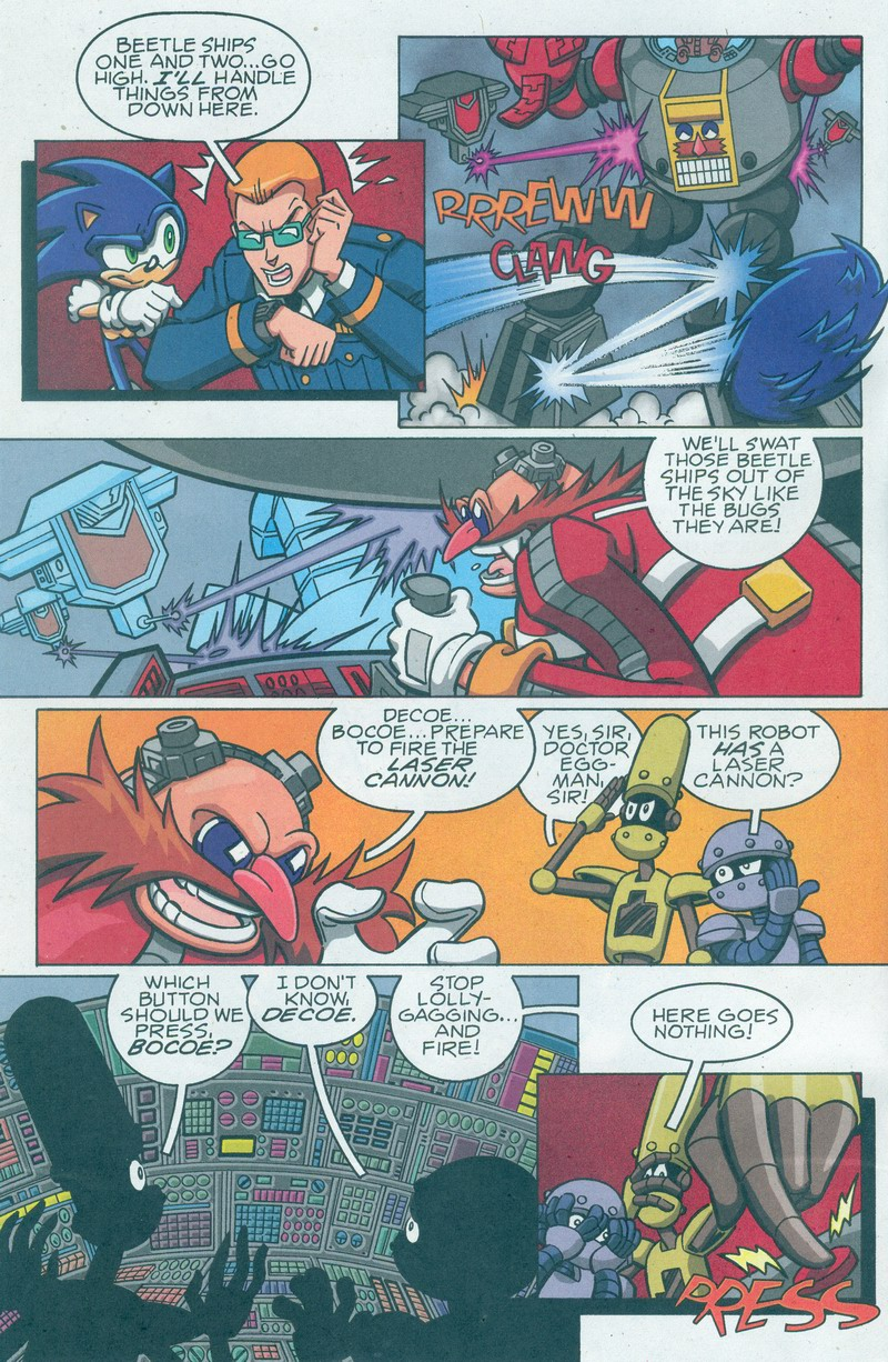 Sonic X - August 2007 Page 1