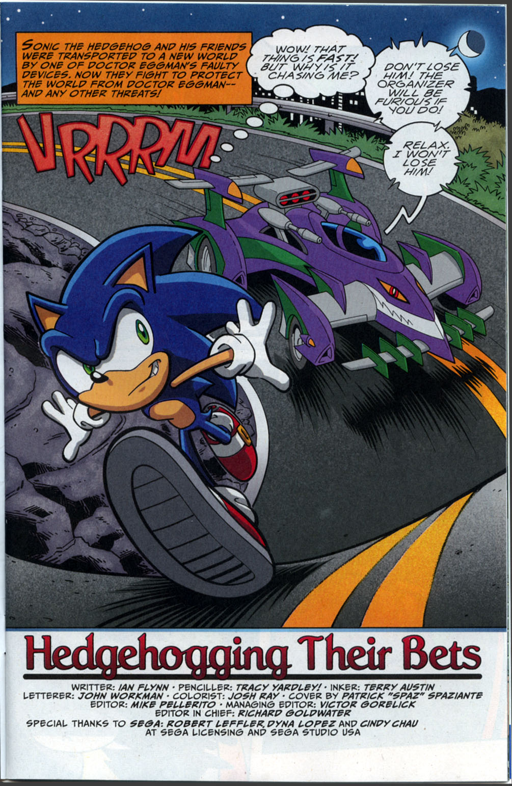 Sonic X - September 2007 Page 1