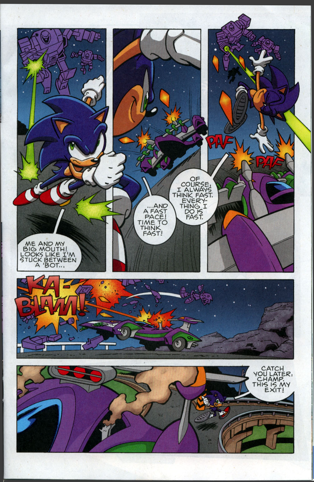 Sonic X - September 2007 Page 3