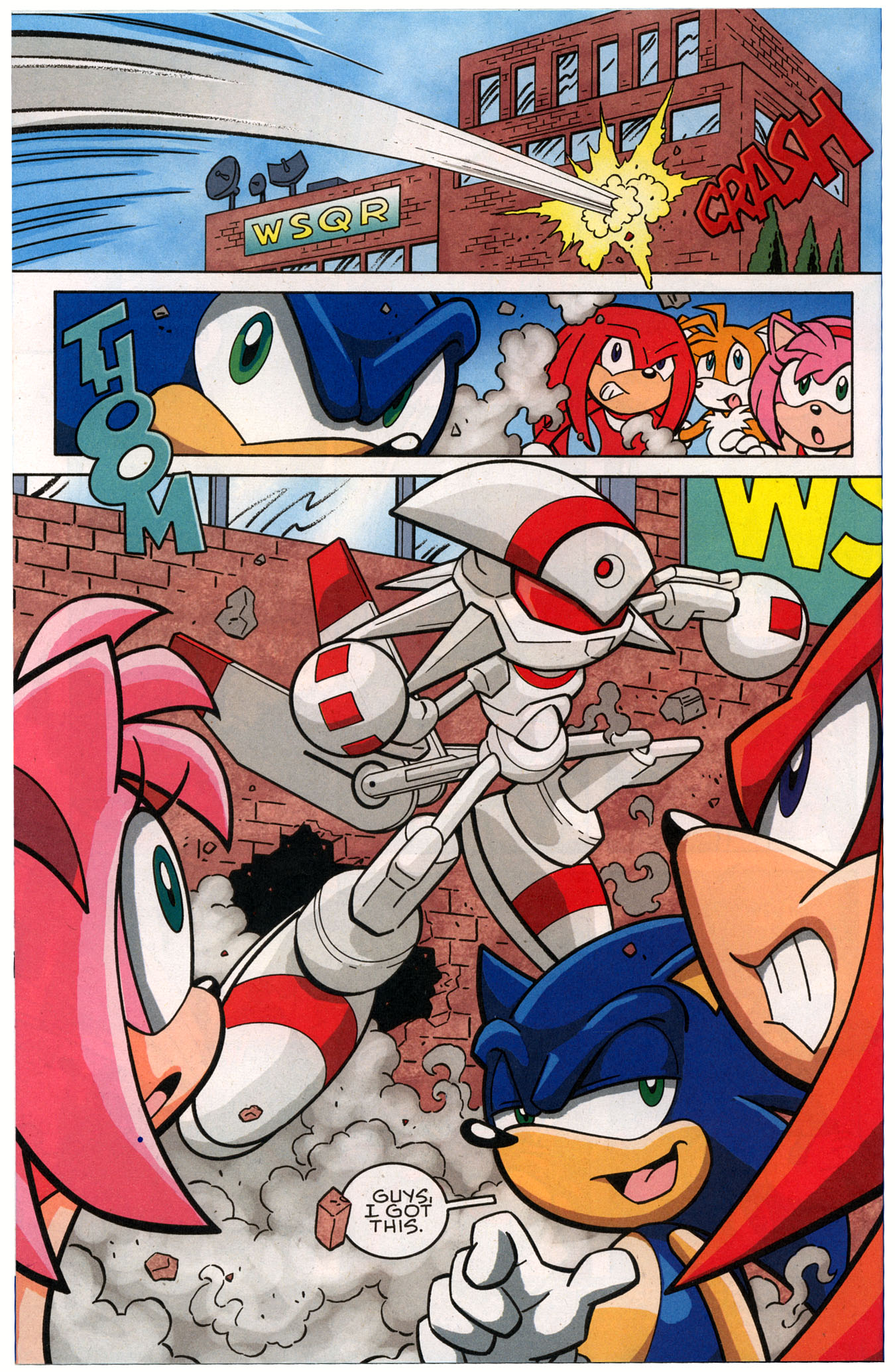 Sonic X - October 2007 Page 10
