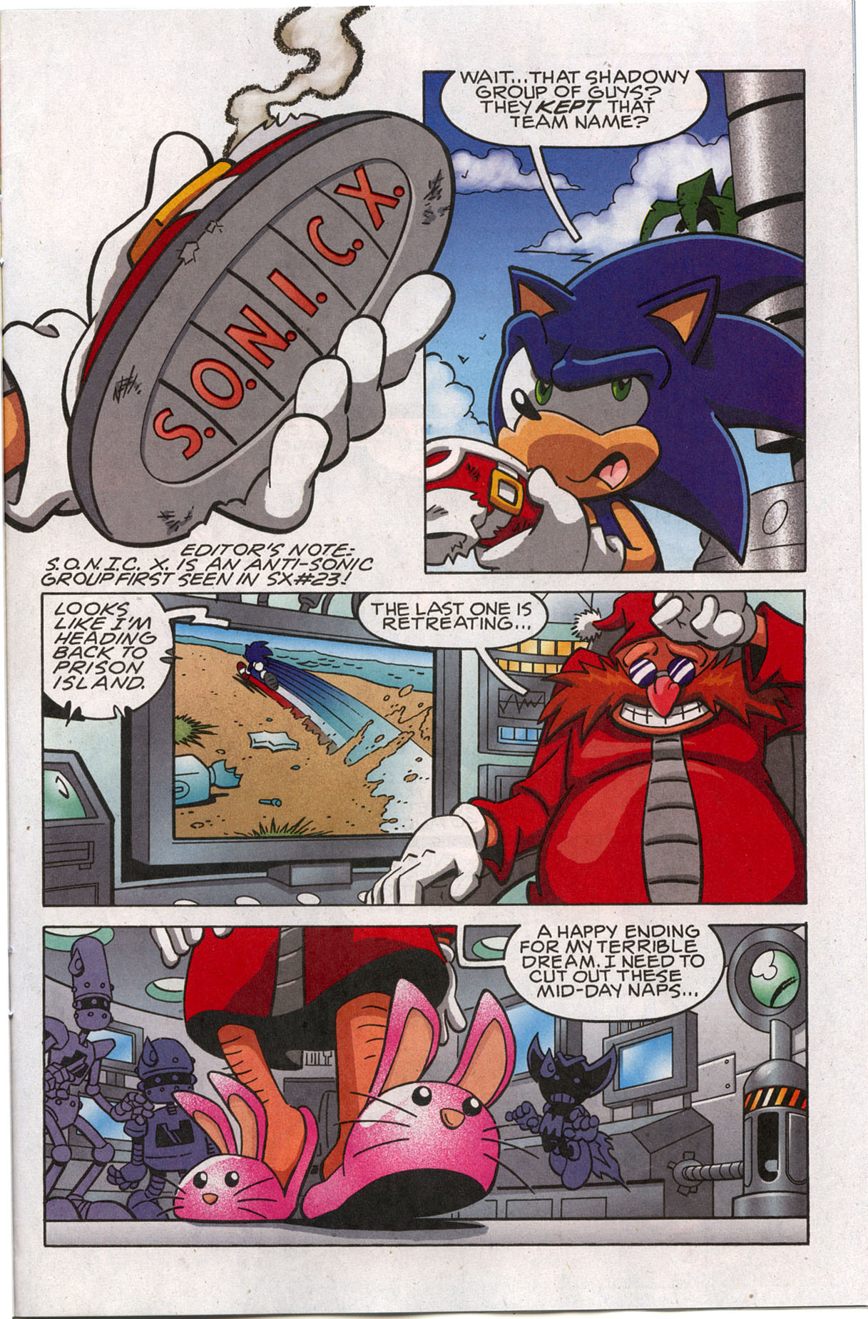 Sonic X - November 2007 Page 15