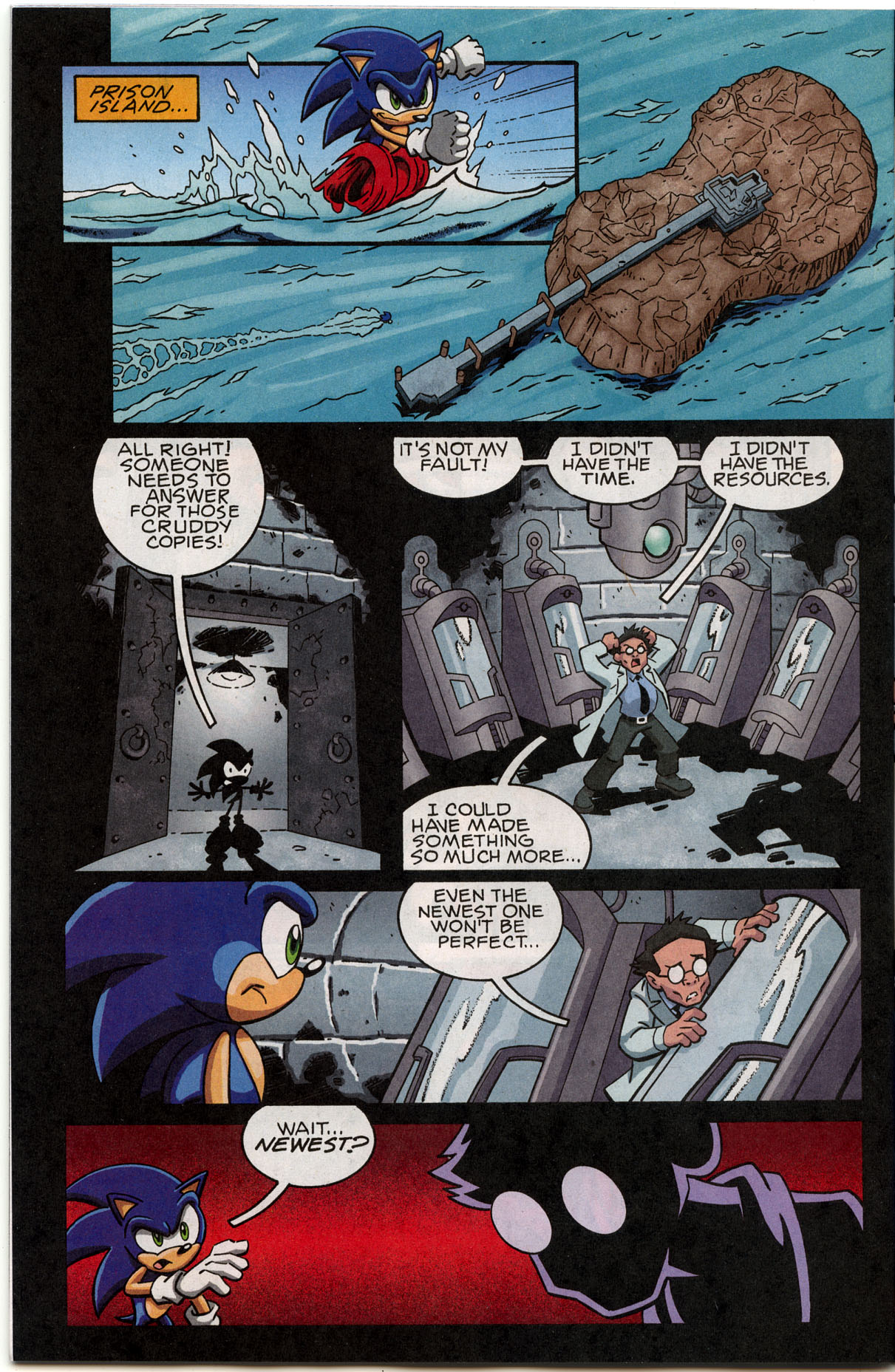 Sonic X - November 2007 Page 16