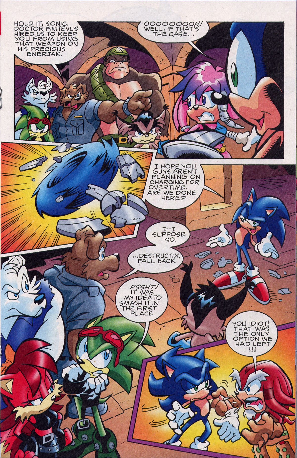 Sonic - Archie Adventure Series February 2008 Page 11