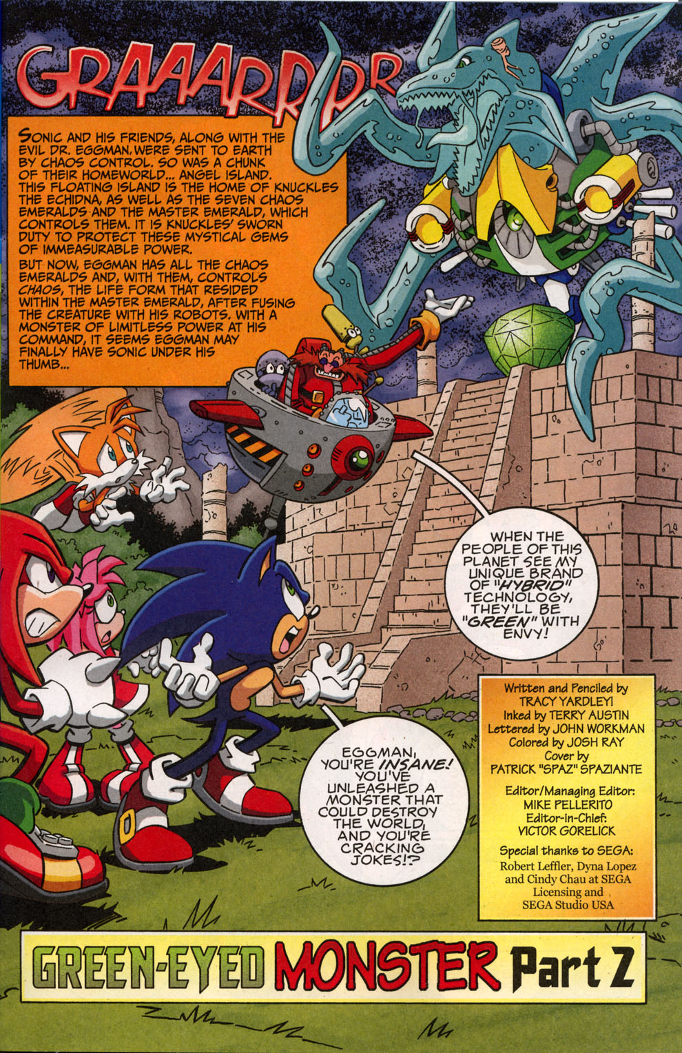 Sonic X - March 2008 Page 1