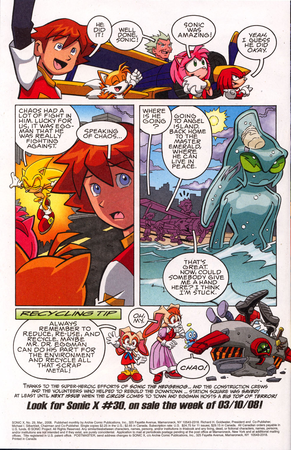 Sonic X - March 2008 Page 22