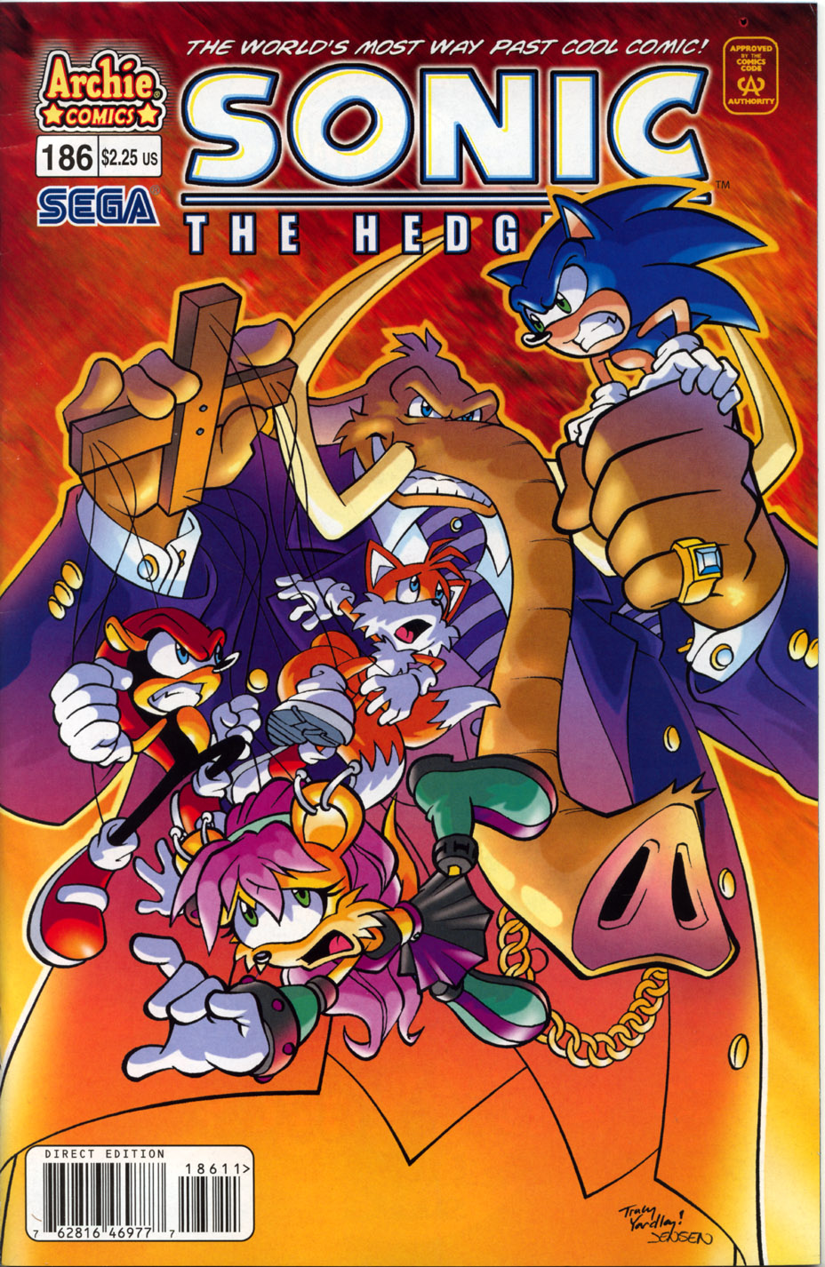 Sonic - Archie Adventure Series May 2008 Comic cover page