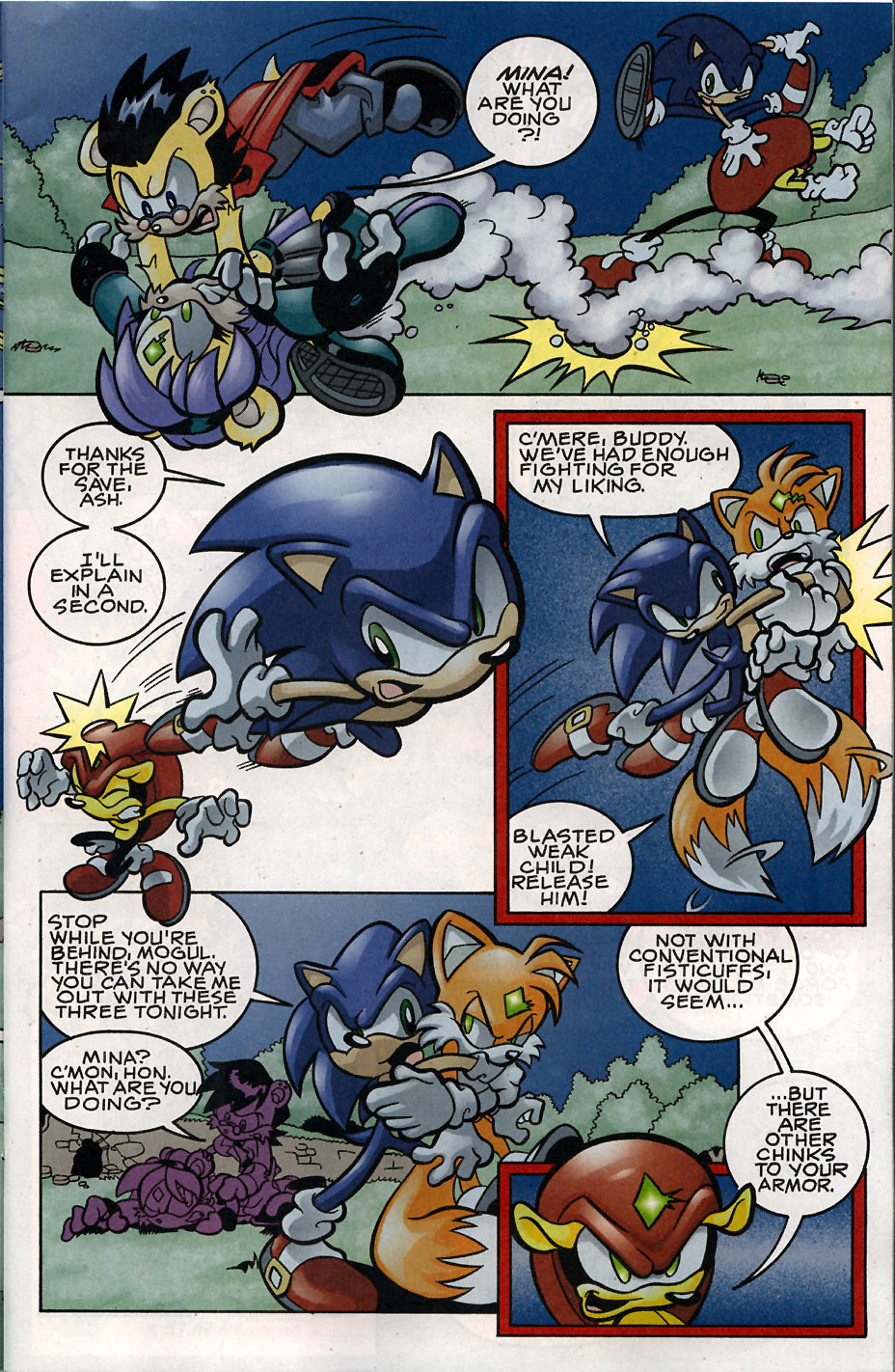 Sonic - Archie Adventure Series May 2008 Page 3