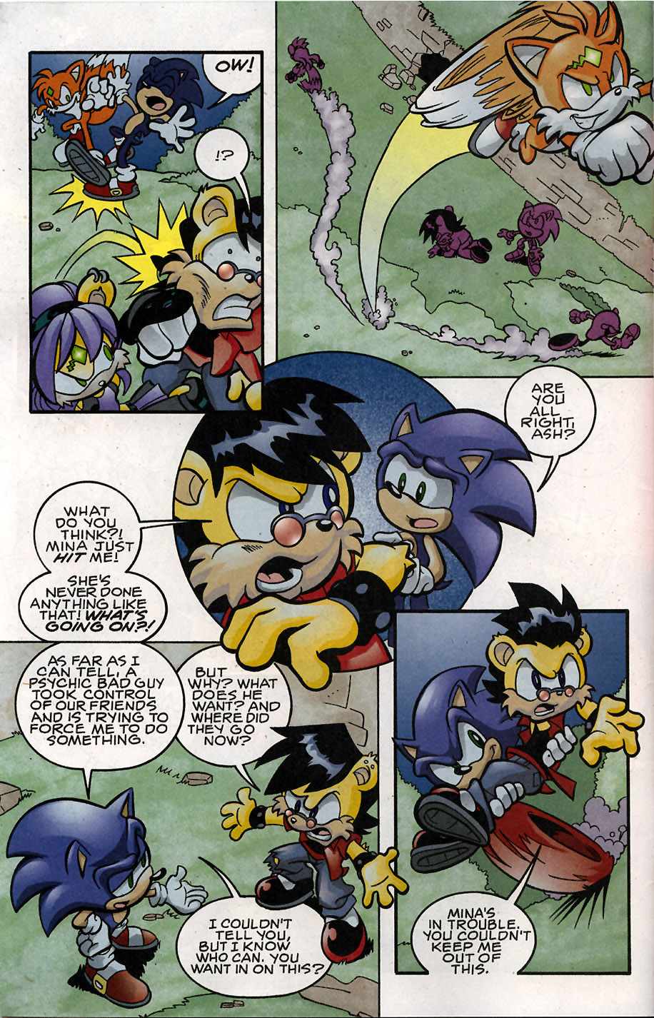 Sonic - Archie Adventure Series May 2008 Page 4