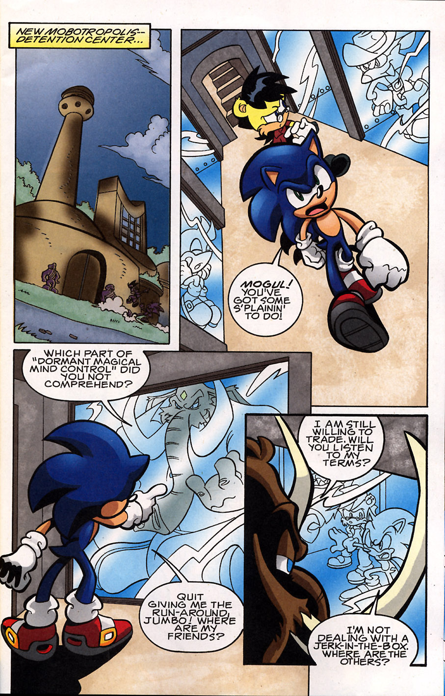 Sonic - Archie Adventure Series May 2008 Page 5