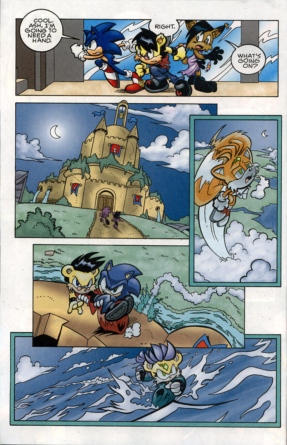 Sonic - Archie Adventure Series May 2008 Page 8