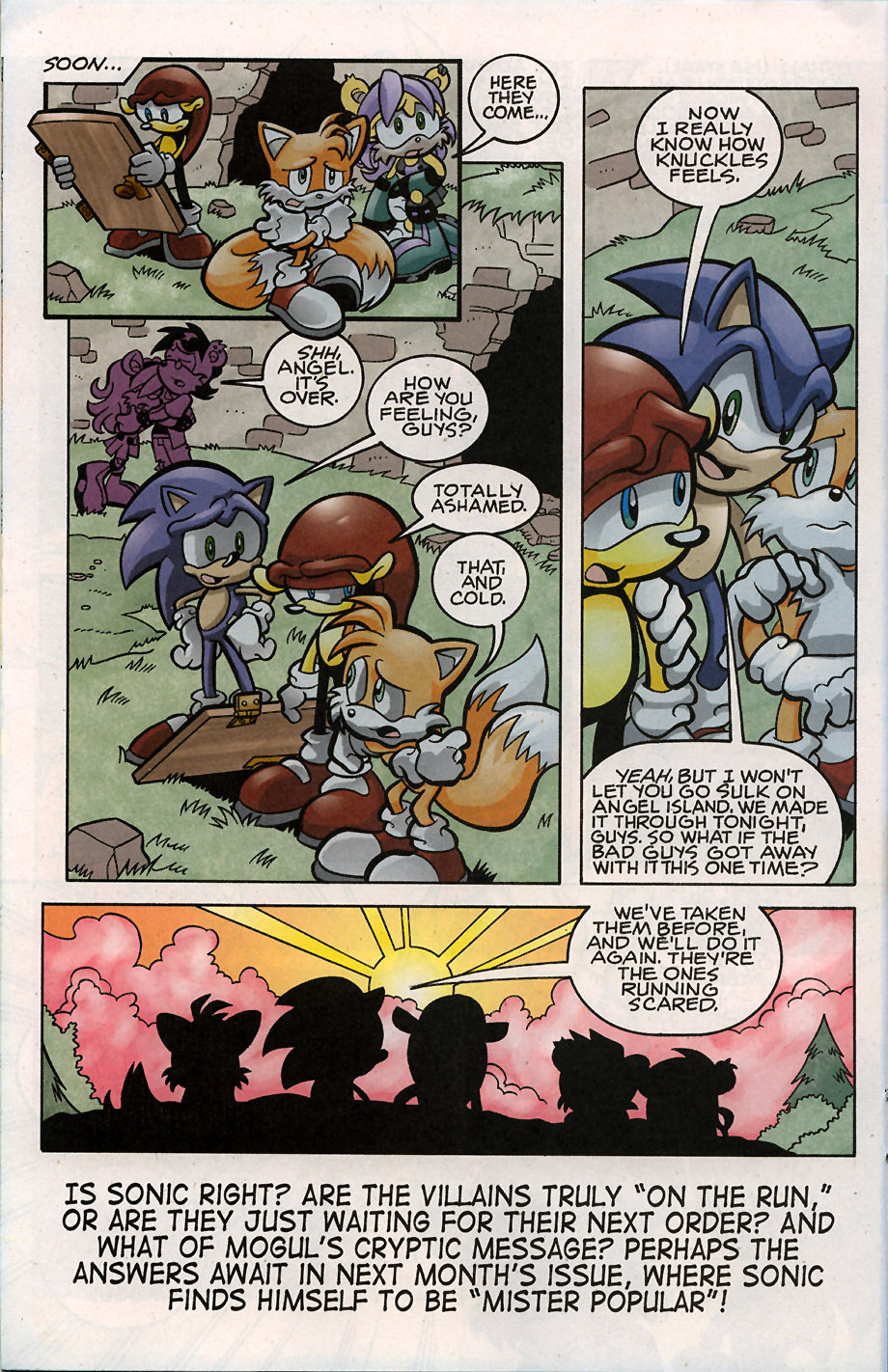 Sonic - Archie Adventure Series May 2008 Page 14