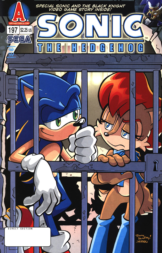Sonic - Archie Adventure Series April 2009 Comic cover page
