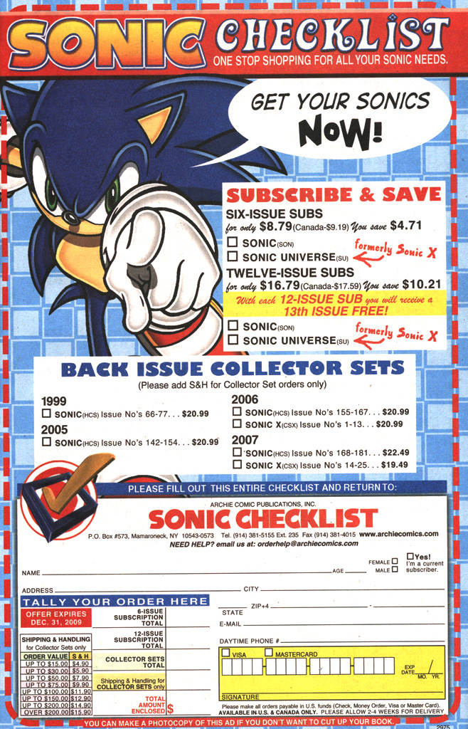 Sonic - Archie Adventure Series April 2009 Page 6