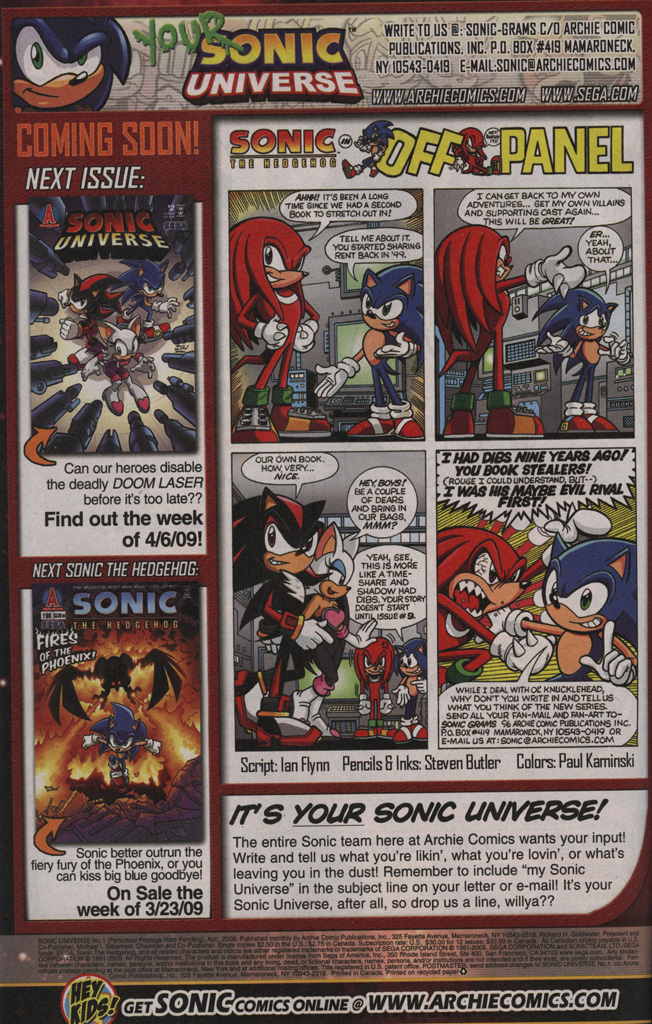 Sonic Universe Issue No. 01 Page 33