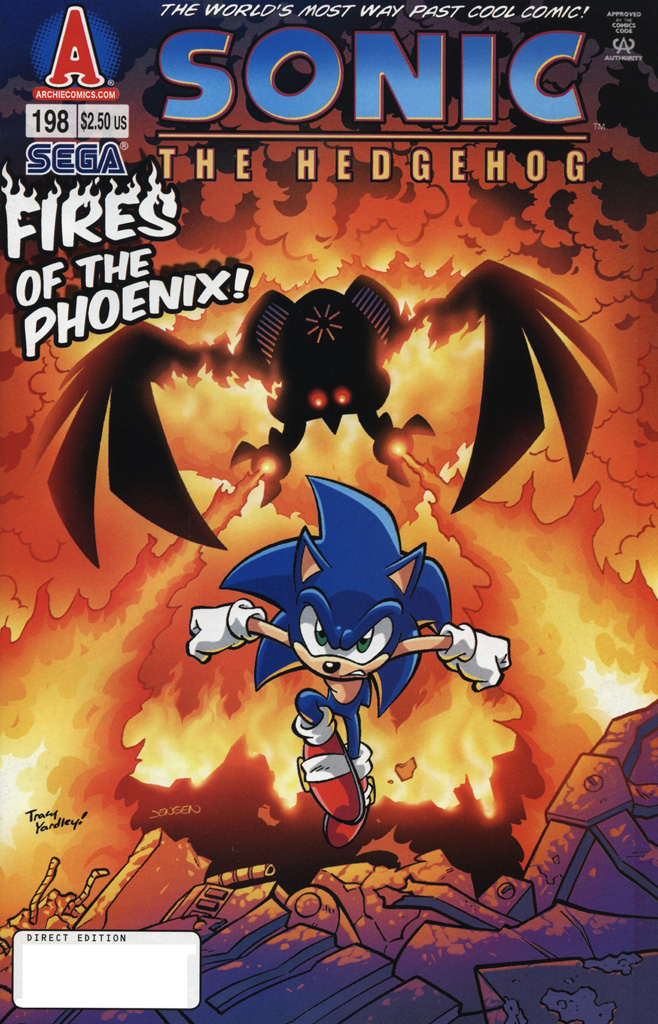 Sonic - Archie Adventure Series May 2009 Comic cover page