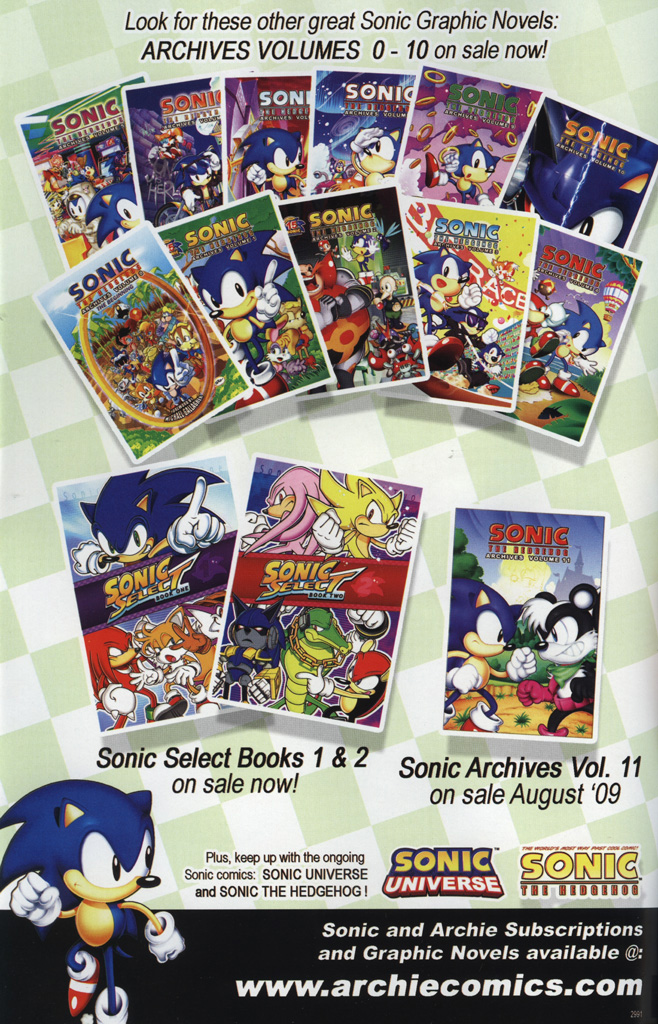 Sonic Universe Issue No. 02 Page 1