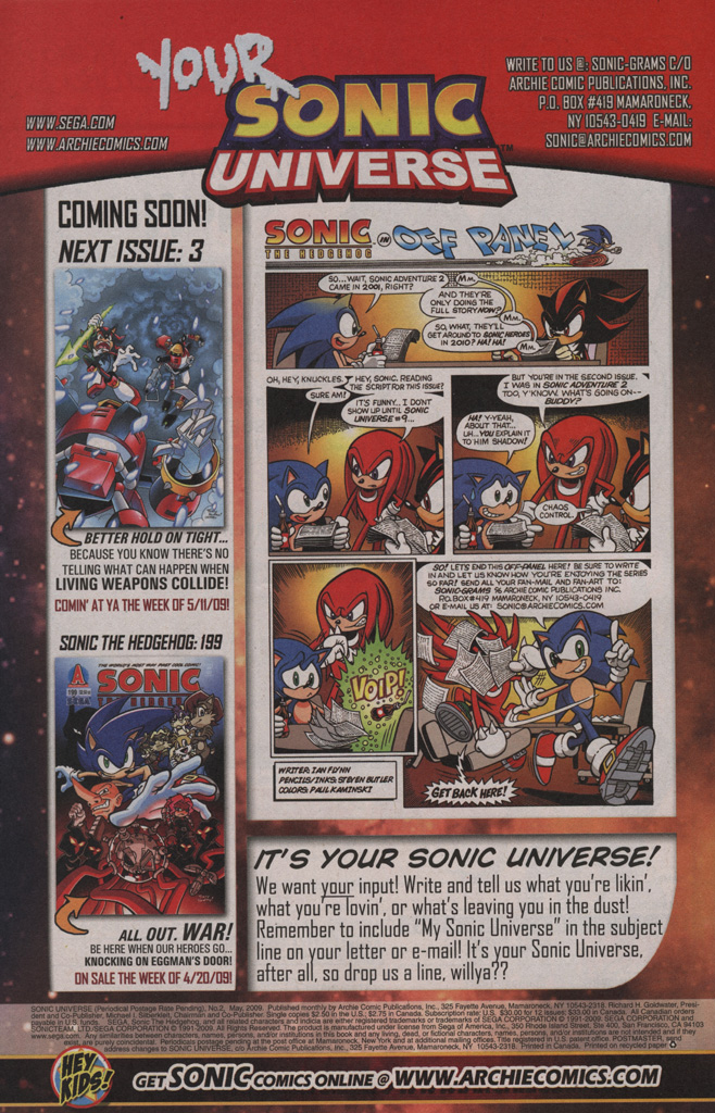 Sonic Universe Issue No. 02 Page 33