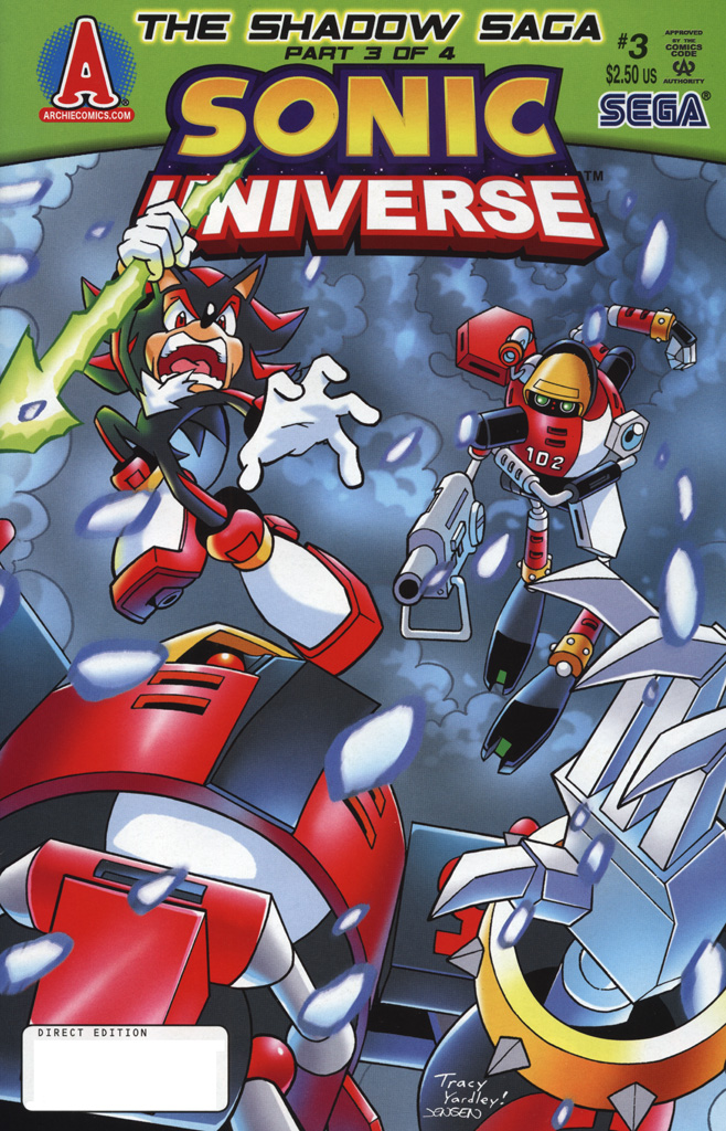 Sonic Universe Issue No. 03 Comic cover page